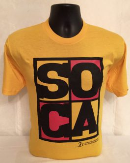 Men's Soca Gold Fitted Tees