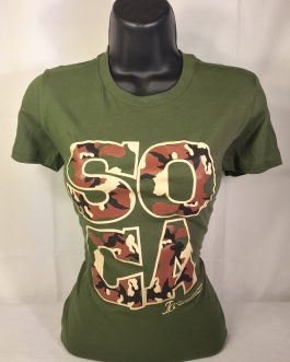 Soca Camouflage Ladies Fitted Tees